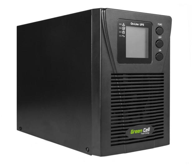 Green Cell UPS (1000VA/900W, 2x Schuko, LCD) - 546090 - zdjęcie