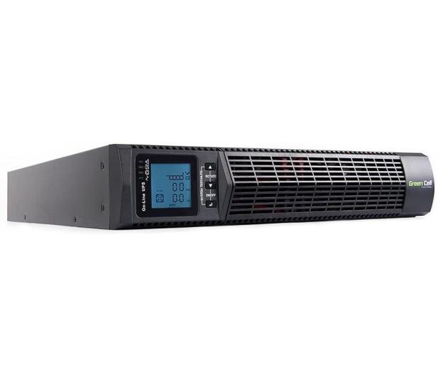 Green Cell UPS (2000VA/1800W, 6x IEC, LCD, RACK) - 546087 - zdjęcie 3