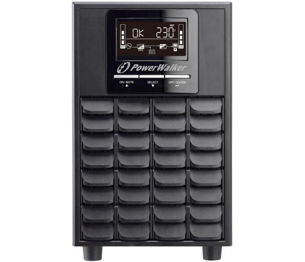 Power Walker ON-LINE (1500VA/1500W, 4x IEC, LCD) - 545864 - zdjęcie 2