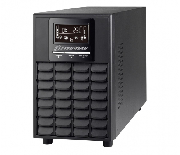 Power Walker ON-LINE (1500VA/1500W, 4x IEC, LCD) - 545864 - zdjęcie