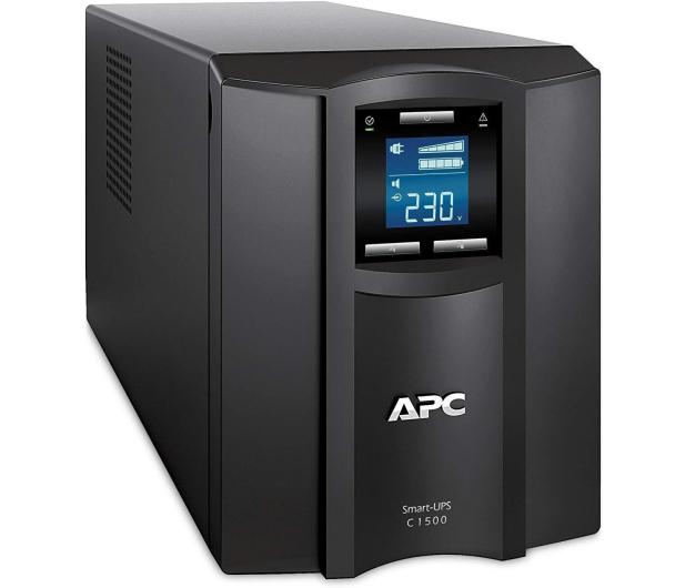 APC Smart-UPS (1000VA/600W, 8x IEC, AVR, LCD) - 545956 - zdjęcie 3