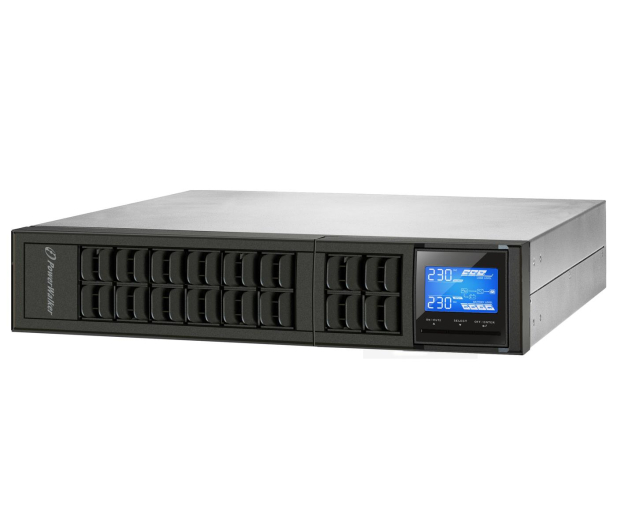 Power Walker ON-LINE (1000VA/800W, 3x IEC, LCD, RACK) - 545722 - zdjęcie 5