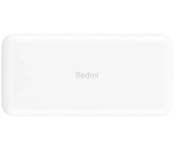 Xiaomi Power Bank 20000 mAh 18W, Fast Charge (Biały) - 544960 - zdjęcie 2