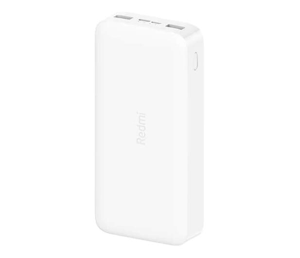 Xiaomi Power Bank 20000 mAh 18W, Fast Charge (Biały) - 544960 - zdjęcie