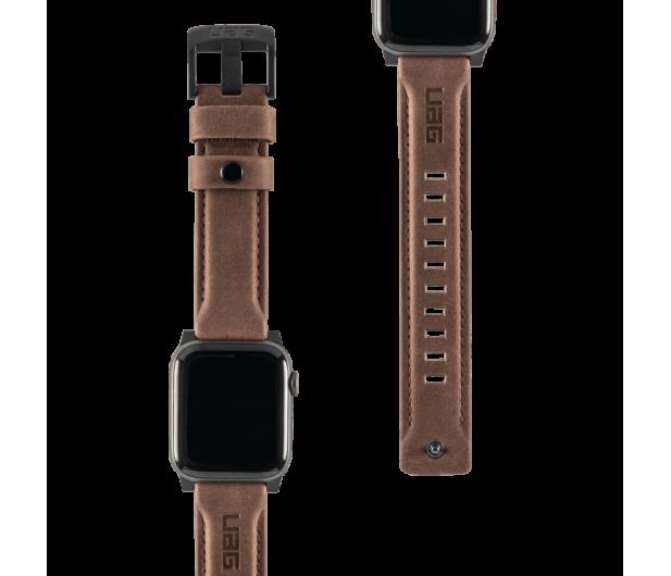 UAG Pasek Skórzany do Apple Watch brązowy - 540796 - zdjęcie 4