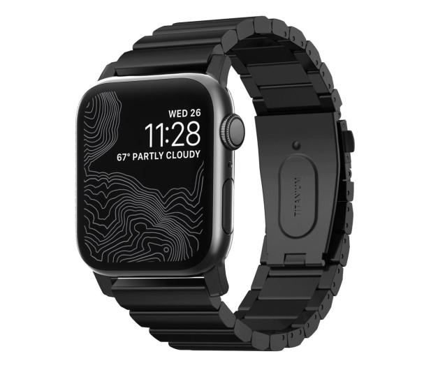 Nomad Bransoleta Tytanowa do Apple Watch czarny - 540753 - zdjęcie