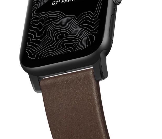 Nomad Pasek Skórzany do Apple Watch brązowo-czarny - 540745 - zdjęcie 5