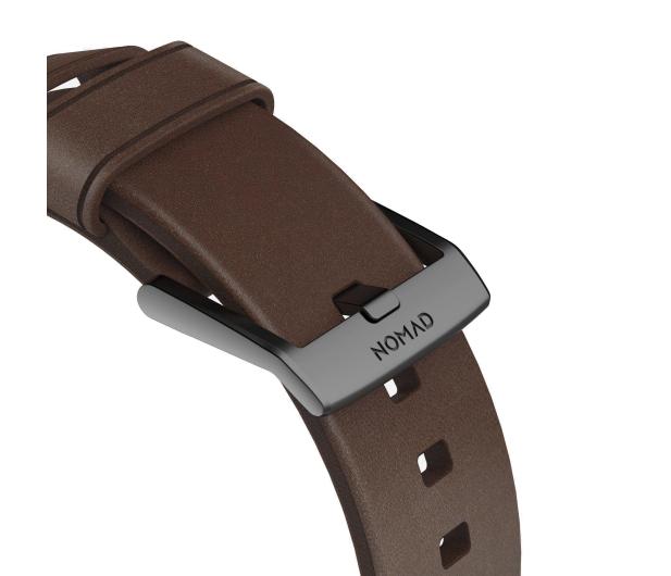 Nomad Pasek Skórzany do Apple Watch brązowo-czarny - 540745 - zdjęcie 6