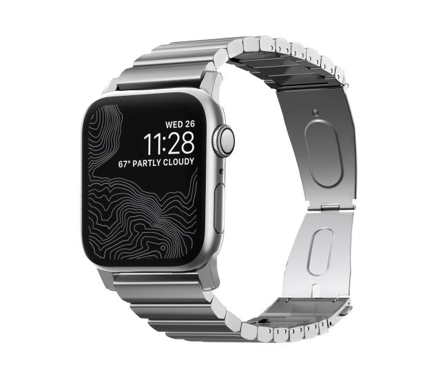 Nomad Bransoleta Stalowa do Apple Watch srebrny - 540759 - zdjęcie 7