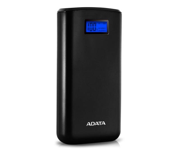 ADATA Power Bank S20000D 20000mAh (2.1A, czarny) - 546577 - zdjęcie 2