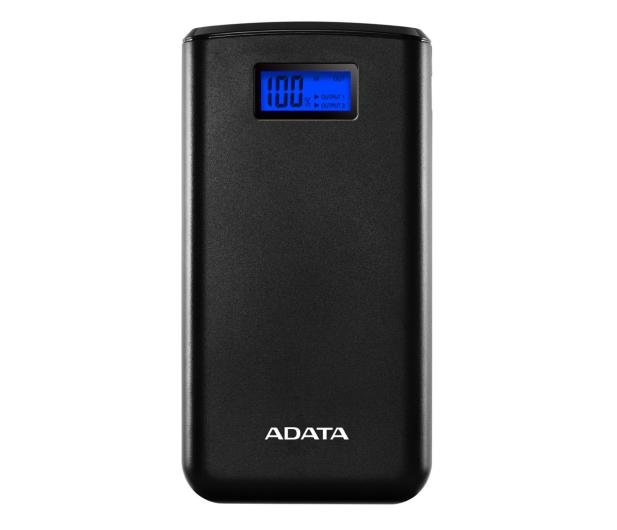 ADATA Power Bank S20000D 20000mAh (2.1A, czarny) - 546577 - zdjęcie