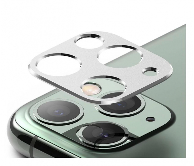 Ringke Nakładka Camera Styling do iPhone 11 Pro srebrny - 546915 - zdjęcie