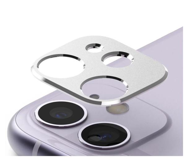 Ringke Nakładka Camera Styling do iPhone 11 srebrny - 546912 - zdjęcie