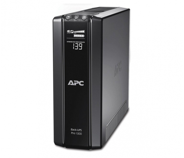APC Back-UPS Pro 1500 (1500VA/865W, 6xPL, AVR, LCD) - 62925 - zdjęcie