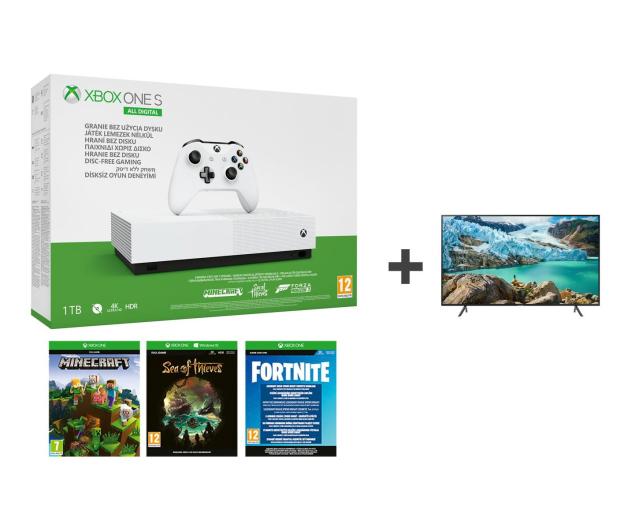 Microsoft Xbox One S All-Digital Edition + TV - 542941 - zdjęcie