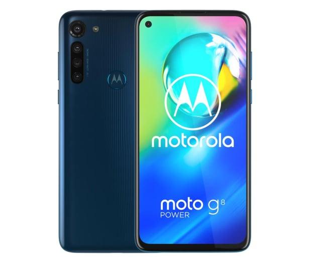 Motorola Moto G8 Power 4/64GB Dual SIM Capri Blue - 543494 - zdjęcie