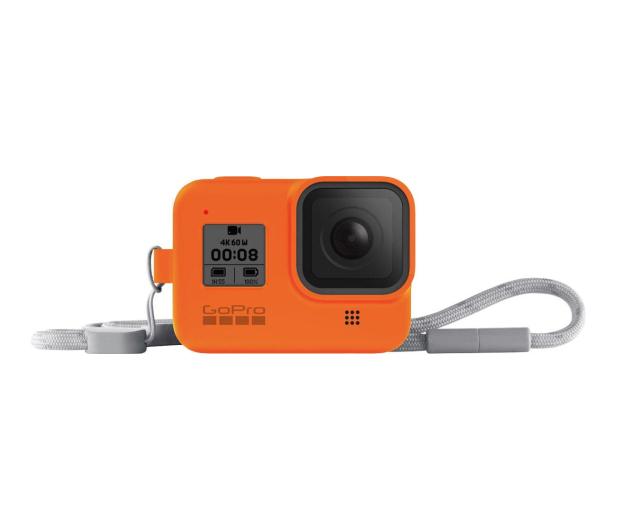 GoPro Silikonowe Etui do HERO8 Black pomarańczowe - 542369 - zdjęcie 2