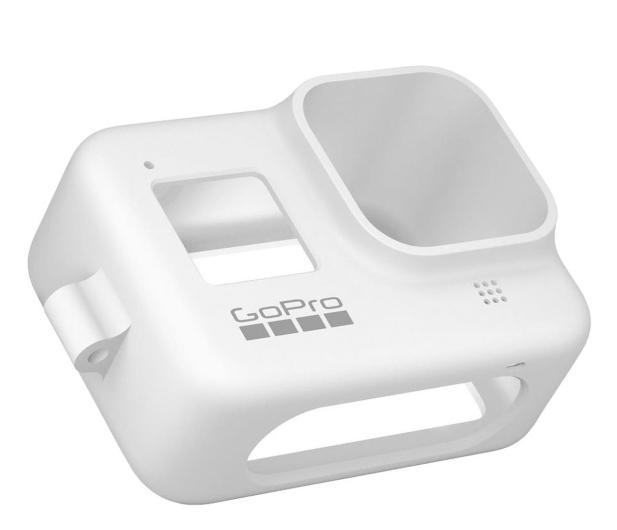 GoPro Silikonowe Etui do HERO8 Black białe  - 542368 - zdjęcie