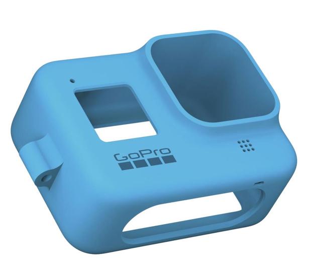 GoPro Silikonowe Etui do HERO8 Black niebieskie - 542362 - zdjęcie