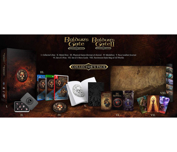 PlayStation Baldur's Gate Enhanced Edition Collector's Pack - 543373 - zdjęcie 3
