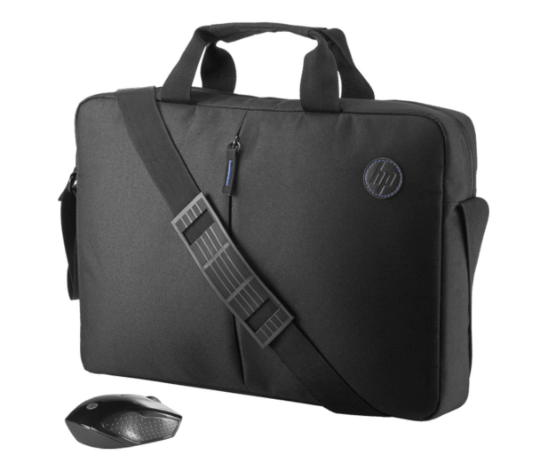 HP Value Briefcase & Wireless Mouse Kit - 542785 - zdjęcie