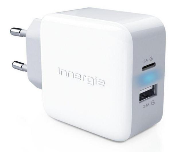 Innergie Ładowarka sieciowa 27W (USB-C 3A, USB 2.4A, EU) - 543670 - zdjęcie