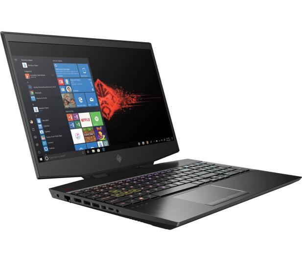 HP OMEN 15 i7-9750H/32GB/512/Win10 RTX2070 AMOLED - 543697 - zdjęcie 4