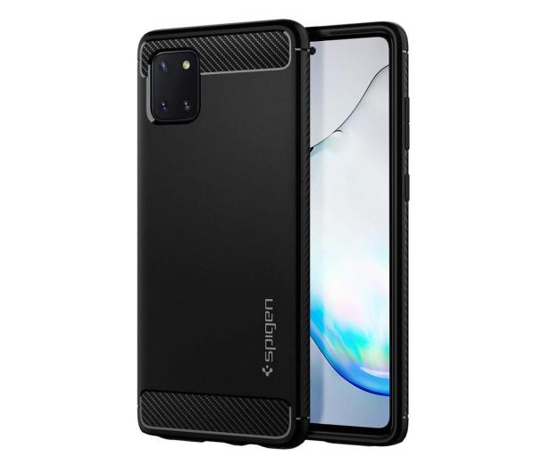 Spigen Rugged Armor do Samsung Galaxy Note 10 Lite czarny - 544201 - zdjęcie