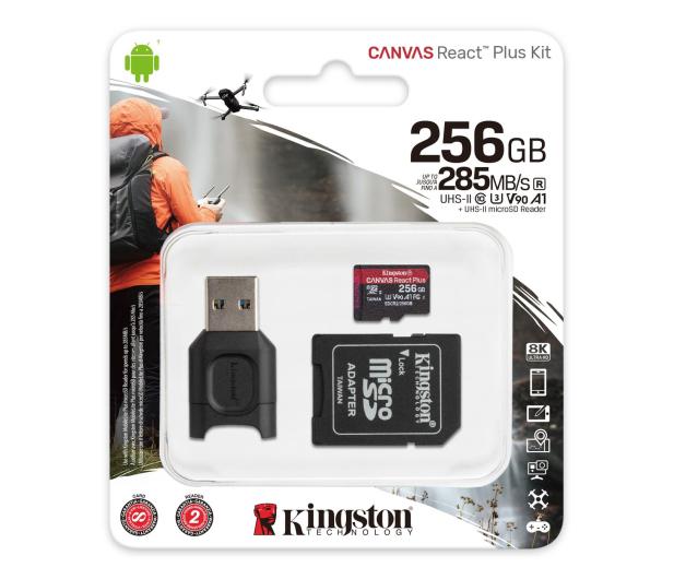 Kingston 256GB Canvas React Plus 285MB/165MB (odczyt/zapis) - 550117 - zdjęcie 3
