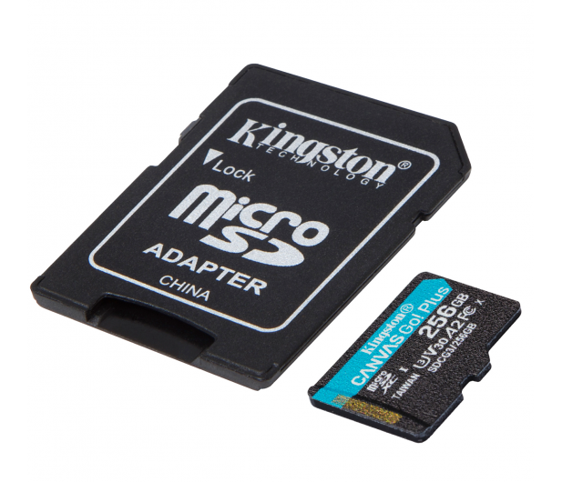 Kingston 256GB Canvas Go! Plus 170MB/90MB (odczyt/zapis) - 550120 - zdjęcie 2