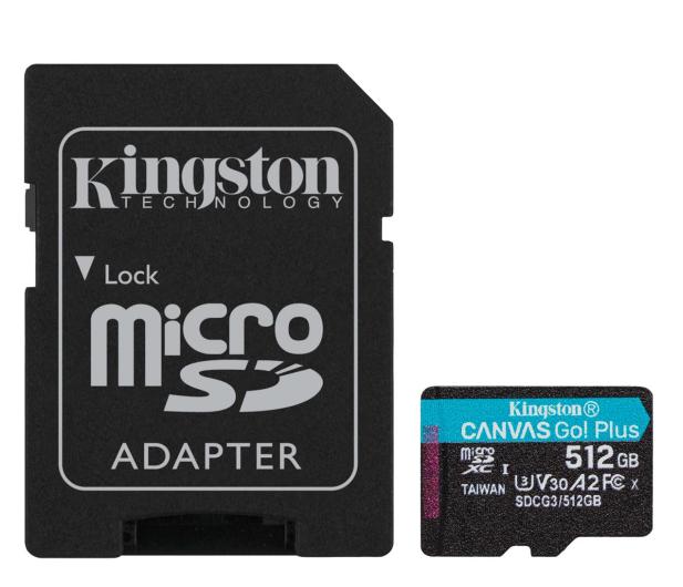 Kingston 512GB Canvas Go! Plus 170MB/90MB (odczyt/zapis) - 550121 - zdjęcie