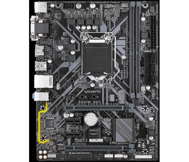 Gigabyte B365M HD3 - 550440 - zdjęcie 3