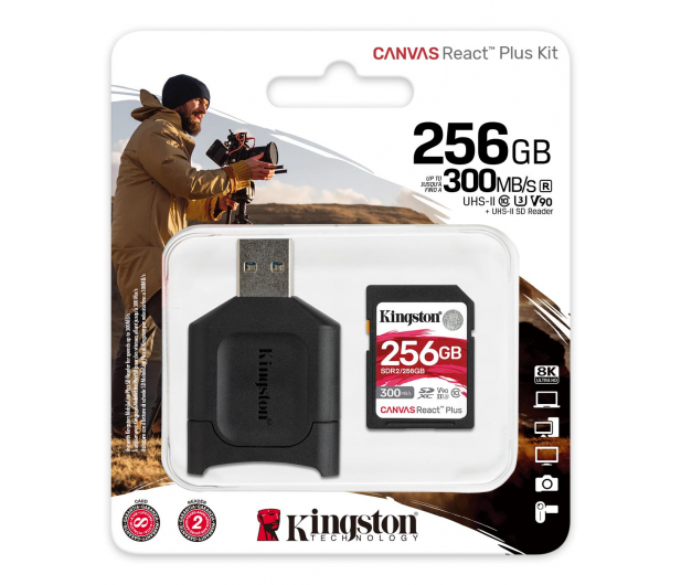 Kingston 256GB Canvas React Plus 300MB/260MB/s - 550464 - zdjęcie 3