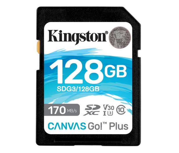 Kingston 128GB Canvas Go! Plus 170MB/90MB (odczyt/zapis) - 550471 - zdjęcie
