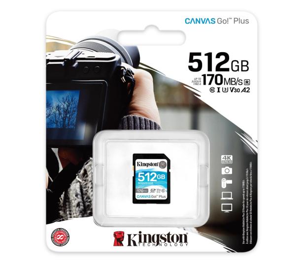Kingston 512GB Canvas Go! Plus 170MB/90MB (odczyt/zapis) - 550474 - zdjęcie 3