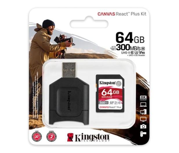 Kingston 64GB Canvas React Plus 300MB/260MB/s - 550462 - zdjęcie 3
