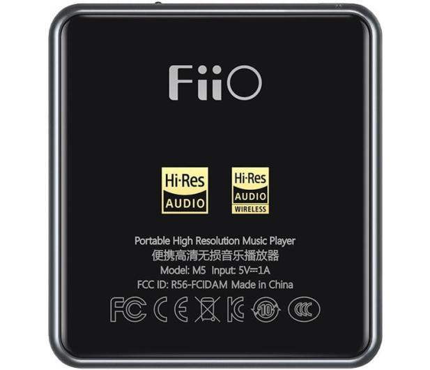FiiO M5 Moonlight Titanium + opaska smartplayer - 551287 - zdjęcie 7