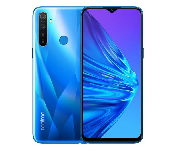 Realme 5 4+128 Crystal Blue  - 550555 - zdjęcie