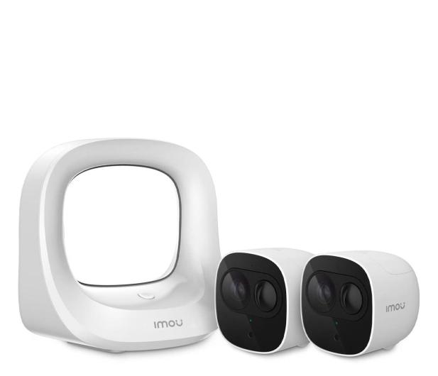 Imou CELL PRO 1080 FullHD LED IR (2szt.+stacja bazowa) - 551233 - zdjęcie