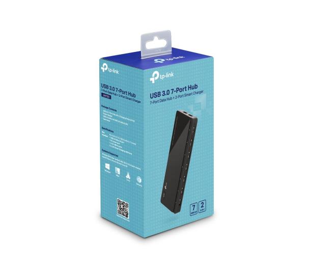 TP-Link UH720 USB 3.0 (7 portów +2x2,4A aktywny, zasilacz) - 230943 - zdjęcie 3