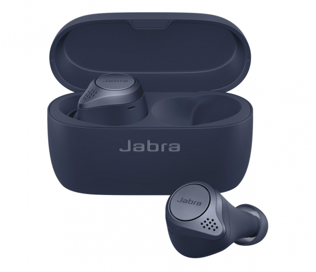 Jabra Elite 75t active granatowe - 552056 - zdjęcie