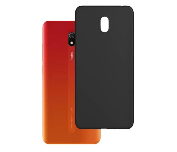 3mk Matt Case do Xiaomi Redmi 8A czarny  - 551006 - zdjęcie