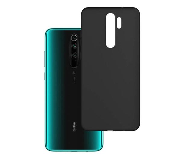3mk Matt Case do Xiaomi Redmi Note 8 Pro czarny  - 551007 - zdjęcie