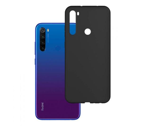 3mk Matt Case do Xiaomi Redmi Note 8t czarny  - 551008 - zdjęcie