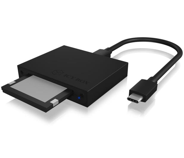 ICY BOX Czytnik kart USB-C - 535288 - zdjęcie 3