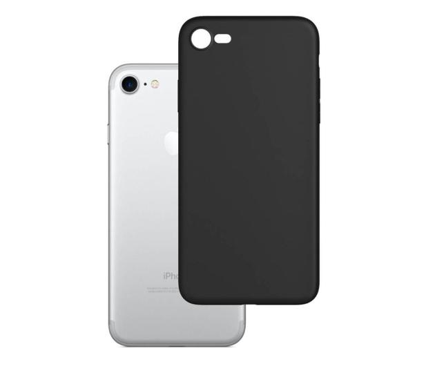 3mk Matt Case do iPhone 7/8/SE czarny  - 550979 - zdjęcie