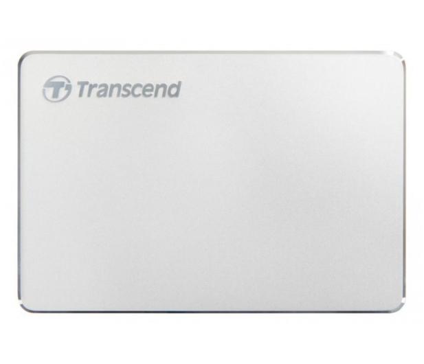 Transcend StoreJet C3S 2TB USB 3.2 Gen. 1 Srebrny - 551612 - zdjęcie