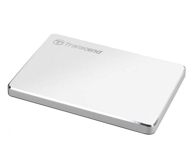 Transcend StoreJet C3S 2TB USB 3.2 Gen. 1 Srebrny - 551612 - zdjęcie 2