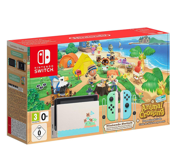 Nintendo NINTENDO Switch: Animal Crossing Edition - 552719 - zdjęcie