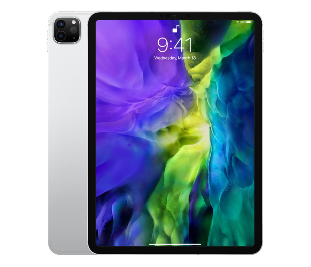 "Apple New iPad Pro 11"" 128 GB Wi-Fi + LTE Silver - 553083 - zdjęcie"
